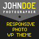 J.Doe Responsive Photography Wordpress Theme - ThemeForest Item for Sale