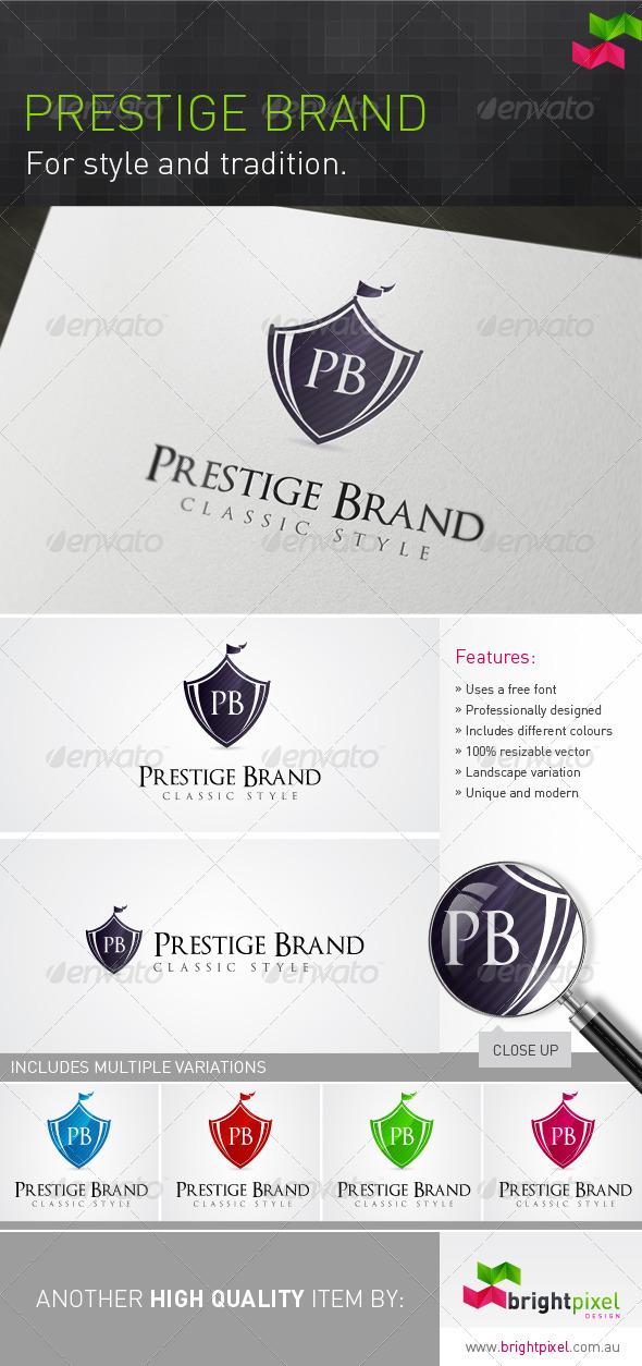 Prestige Brand - Crests Logo Templates