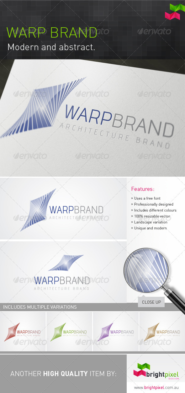 Warp Brand - Vector Abstract