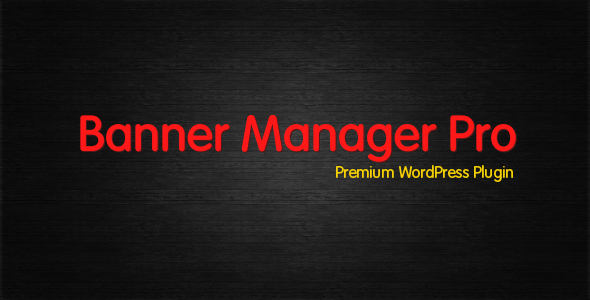 CodeCanyon Banner Manager Pro 2561323