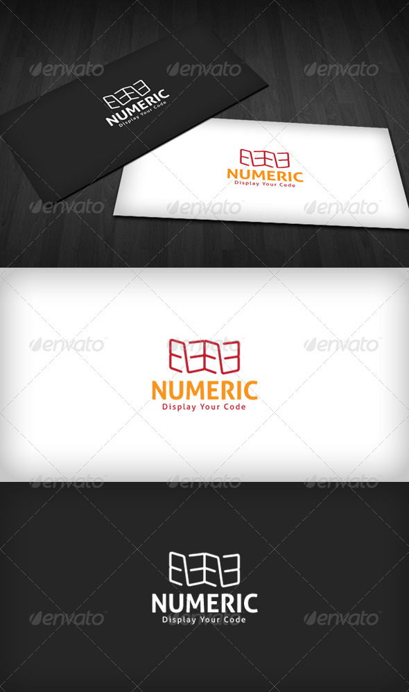 Numeric Logo - Numbers Logo Templates