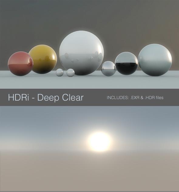 3DOcean HDRi Deep Clear 93573