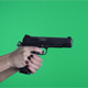 Female Shooting 1911 Sig 45 Handgun Pistol (3-Pack) - VideoHive Item for Sale