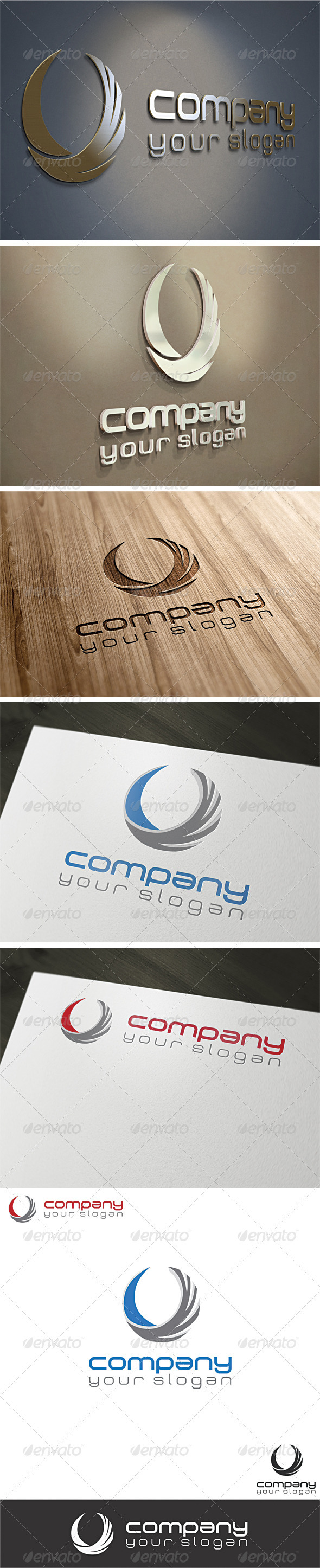 Agency Logo Template - Vector Abstract