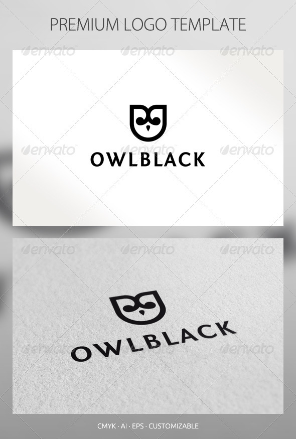 GraphicRiver Owl Logo Template 2574650