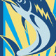 Blue Marlin Fish Jumping Retro - GraphicRiver Item for Sale