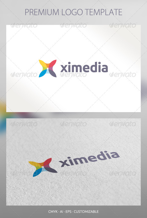 Ximedia- Abstract Logo Template - Abstract Logo Templates