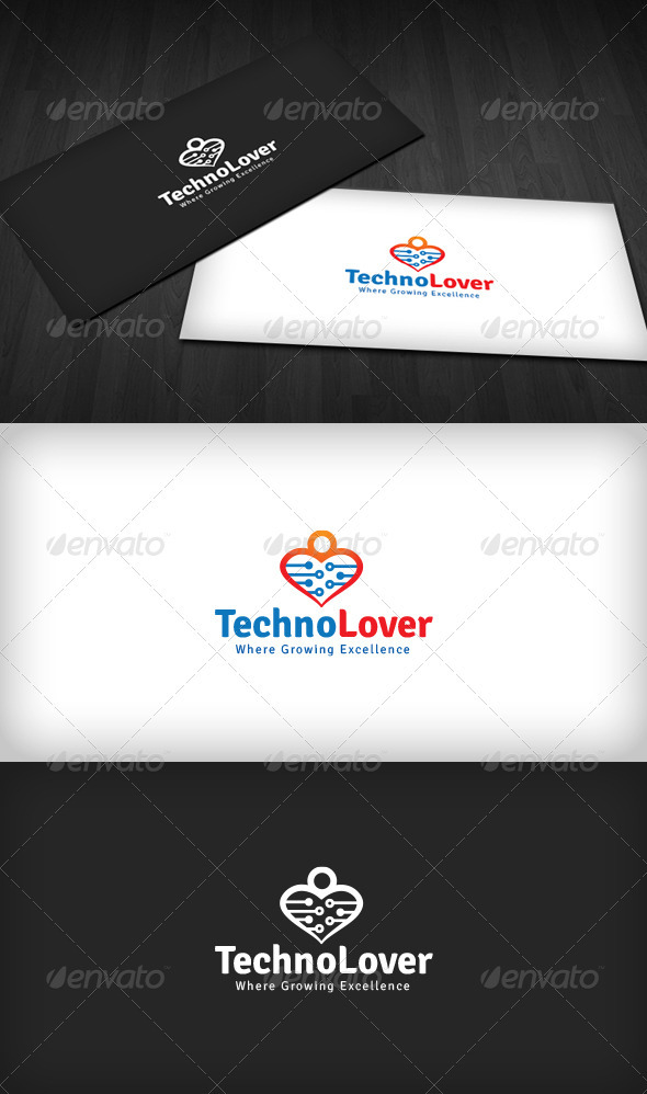 Techno Lover Logo