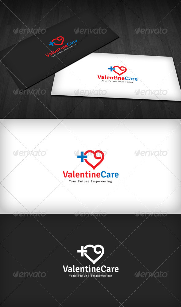 Valentine Care Logo - Humans Logo Templates
