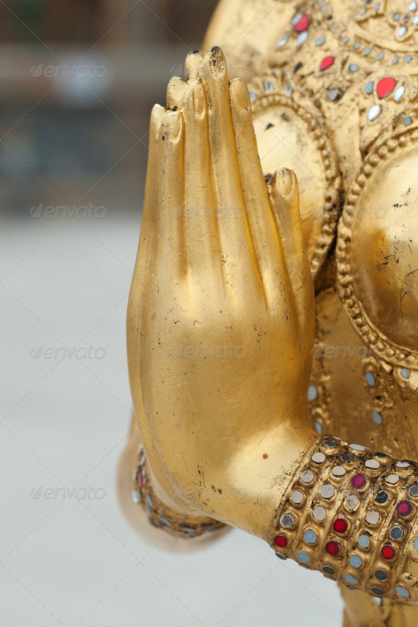 Sawadee welcome to thailand - Stock Photo - Images
