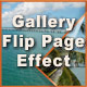 XML Gallery with Flip Page Effect - ActiveDen Item for Sale