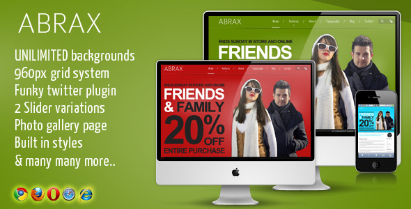 ABRAX TEMPLATE - PHAETON TEMPLATE FOR JOOMLA