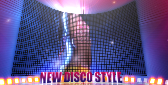 After Effects Project - VideoHive Disco Style 93662