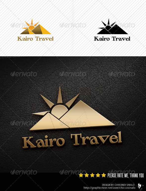 Kairo Travel Logo Template