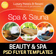 Spa & Sauna Flyers PSD Template - GraphicRiver Item for Sale