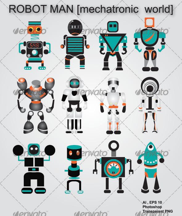 GraphicRiver Humanoid Robot 2575927