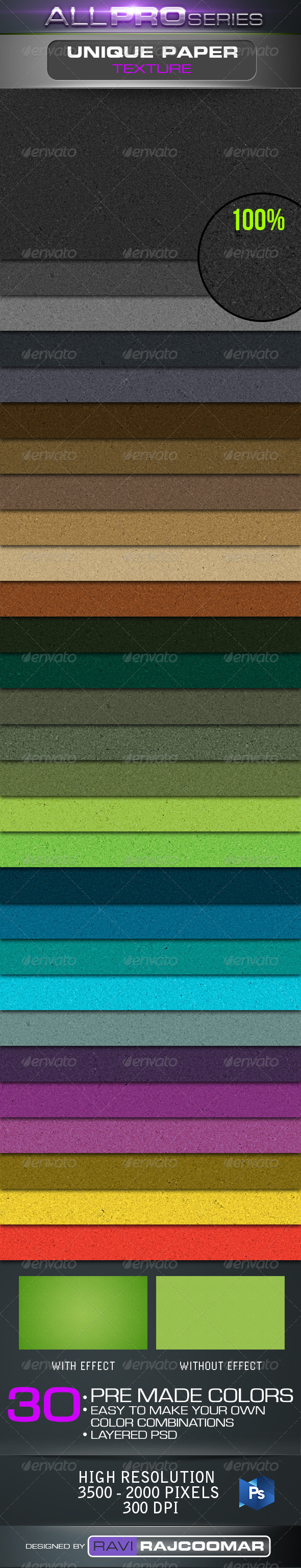 GraphicRiver Unique Paper Texture 2576174