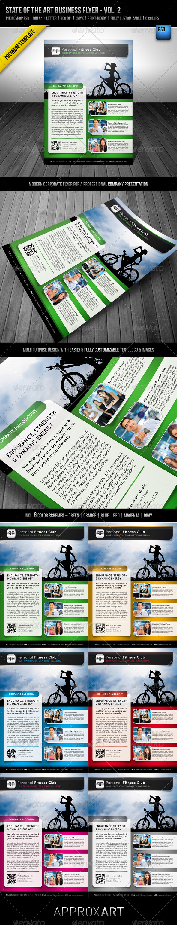 GraphicRiver State of the Art Business Flyer Vol 2 2576218