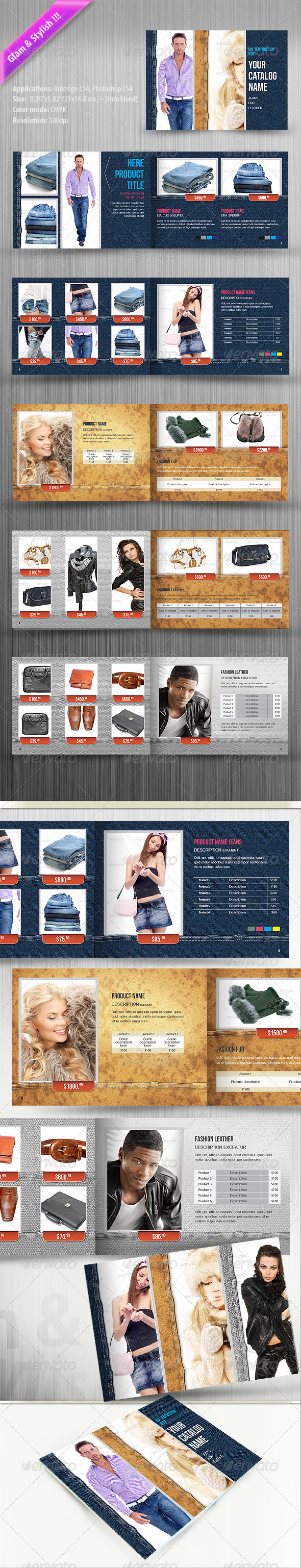 shoes catalog graphics designs templates from graphicriver