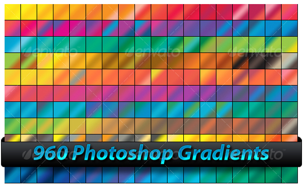 Photoshop Gradients - Photoshop Add-ons