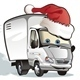 Download Vector Vector Cartoon Christmas Truck