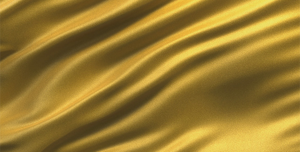 Abstract Golden Fabric Seamless Loop