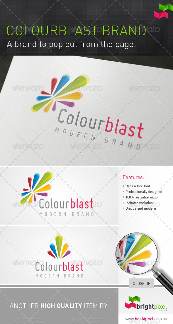 Colourblast Logo