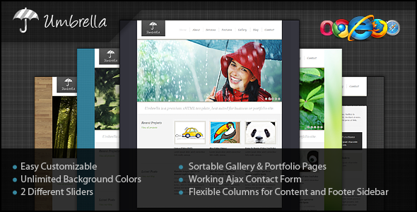 Umbrella xHTML Template