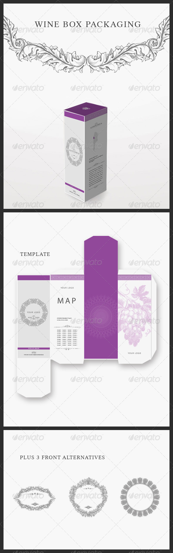 GraphicRiver Modern Wine Packaging 2568381