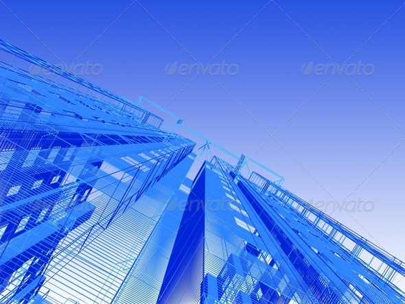 Abstract architectural - Stock Photo - Images