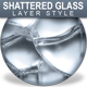 Shattered Glass Seamless Layer Styles