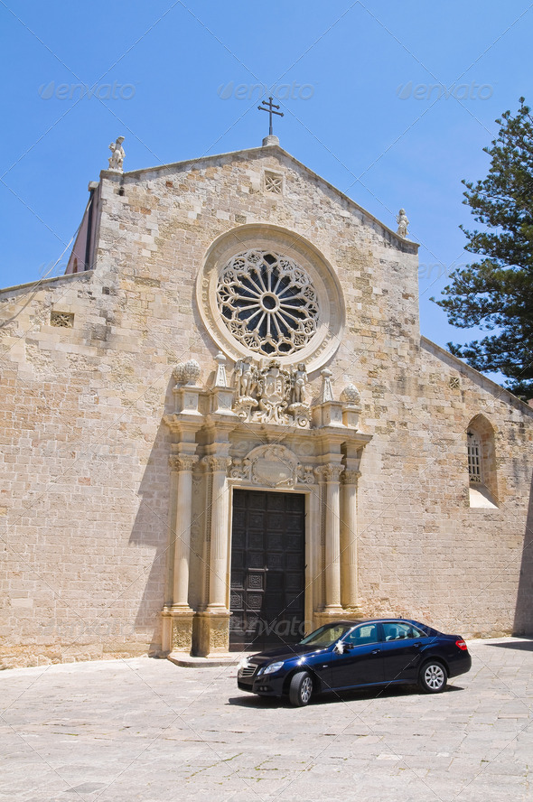 Cathedral of Otranto. Puglia. Italy. - Stock Photo - Images