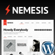 Nemesis Clean Design For Creative Designer - ThemeForest Item for Sale
