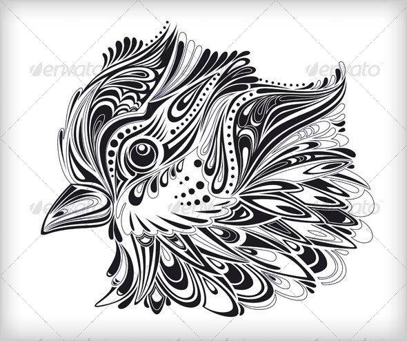 GraphicRiver Abstract vector bird 93726