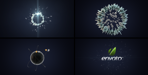 After Effects Project - VideoHive Atom Explosion Logo 2578599