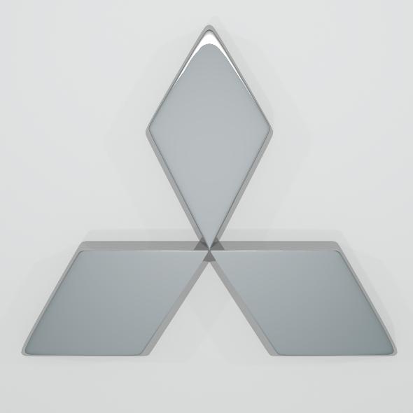 3DOcean Mitsubishi Logo 2578888