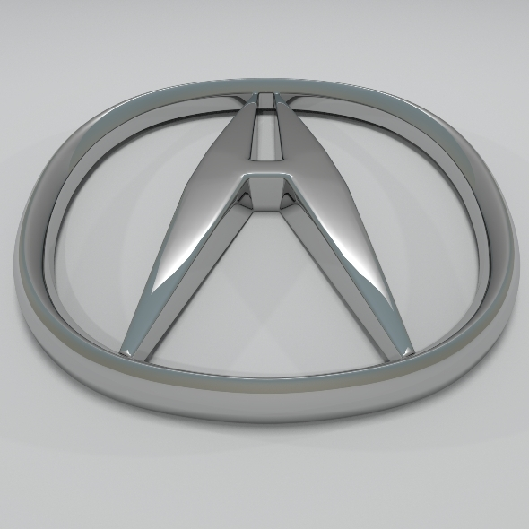Acura Logo - 3DOcean Item for Sale