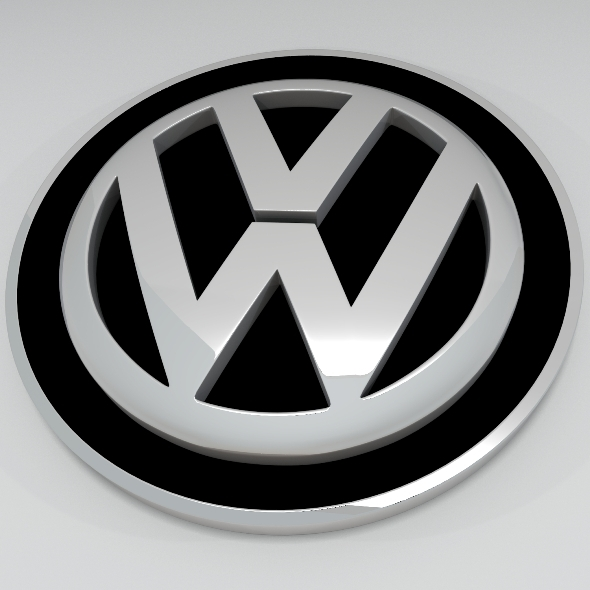 Volkswagen Logo - 3DOcean Item for Sale