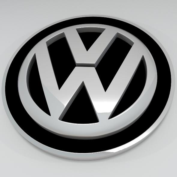 3DOcean Volkswagen Logo 166049