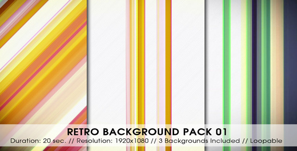 Retro Backgrounds Pack 01