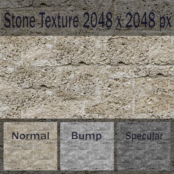 3DOcean Stone Texture 2580010