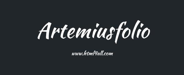 Artemiusfolio_awesome_wordpress_themes