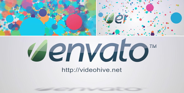 After Effects Project - VideoHive Colored Logo Reveal 2561596