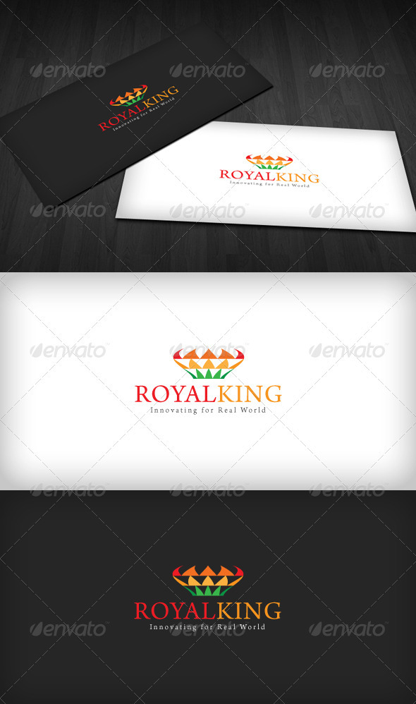 GraphicRiver Royal King Logo 2580279