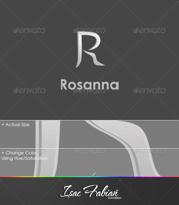 Rosanna Logo Template - Letters Logo Templates