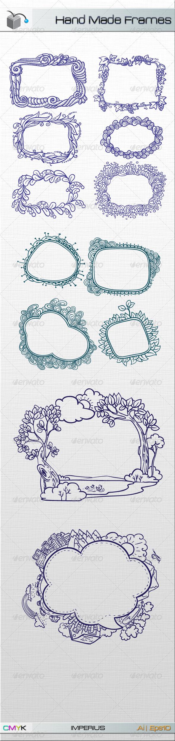 Hand Made Frames - Decorative Vectors