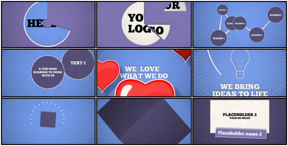 After Effects Project - VideoHive Your promo V.2 2581252