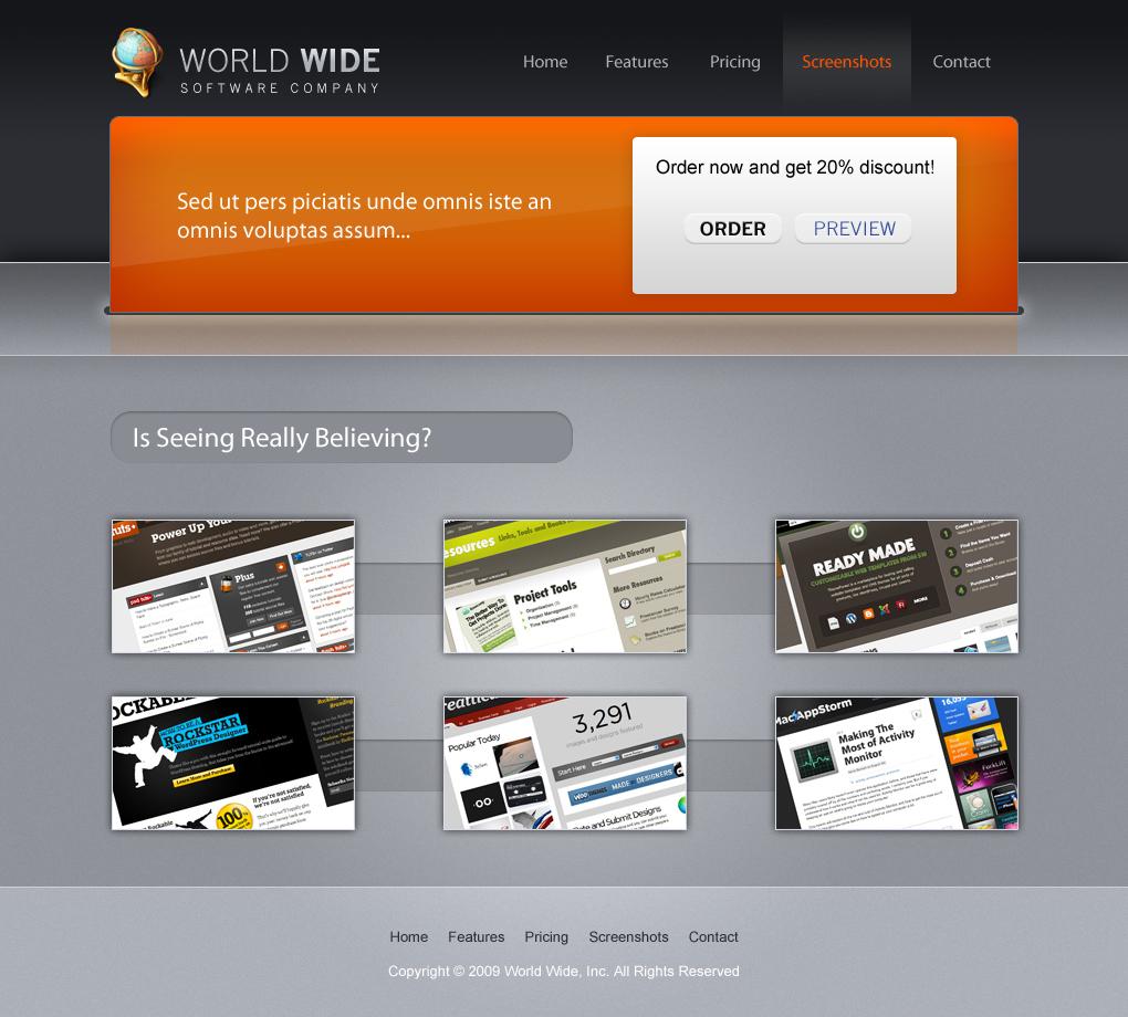 World Wide software company