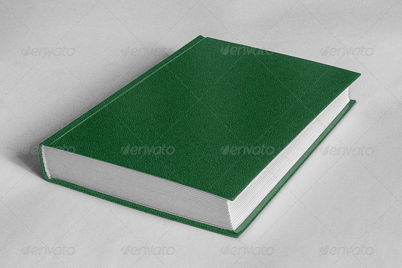 Book Cover Graphicriver : Ribbed book cover by dragonsigh graphicriver