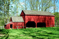 Old wooden red barn  - PhotoDune Item for Sale